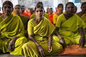 Frauen in Sangham in Indien Selbstbestimmung