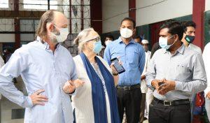 Corona-Hilfe in Indien, COVID-19 Krankenhaus